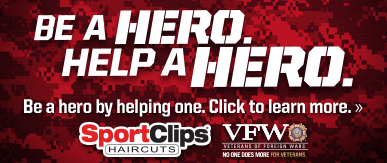 Sport Clips Haircuts of Decatur​ Help a Hero Campaign